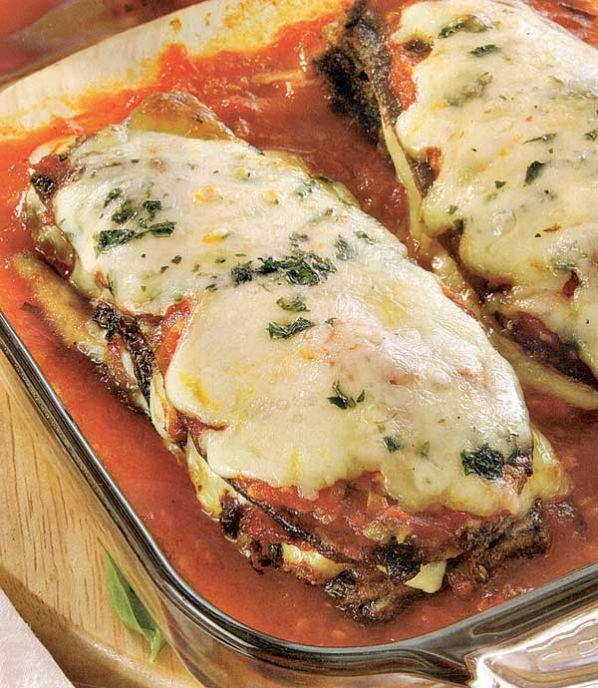 Berenjenas a la parmesana tomas s nchez cocina - Variedades de berenjenas ...