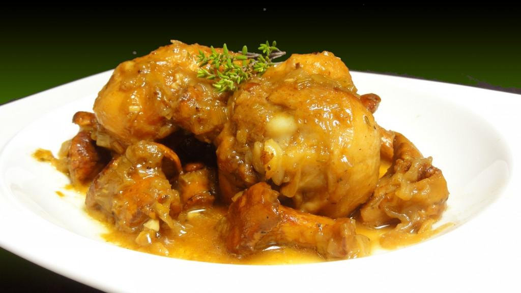 pollo con arroz a la cacerola